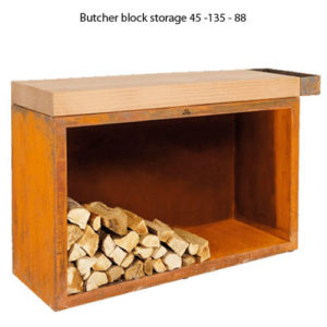 Butcher Block Storage 45-135-88