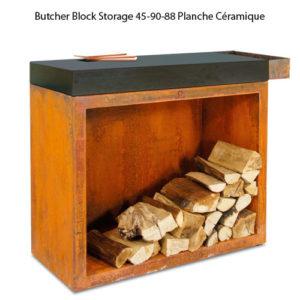 Butcher Block Storage 45-90-88 Planche Céramique