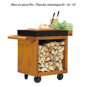 Mise en place Pro - Planche céramique 65 - 65 - 67