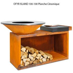 OFYR ISLAND 100-100 Planche Céramique