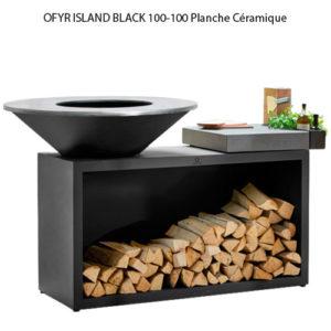 OFYR ISLAND BLACK 85-100 Planche céramique