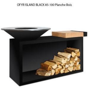 OFYR ISLAND BLACK 85-100 Planche bois