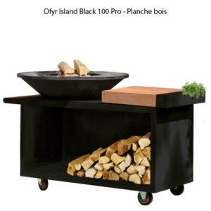 OFYR Island Black 100 Pro - Planche bois