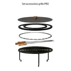 Set accessoires grille PRO