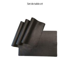 Set de table x 4